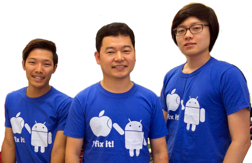 3 team members