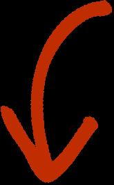 hand drawn arrow curved down1