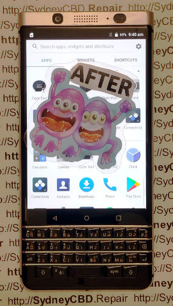 Blackberry Keyone Repair Sydney