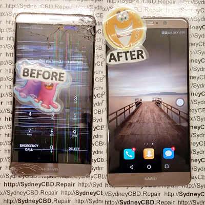 Broken Huawei Mate 9